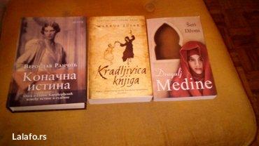 Knjige, cena 900din za sve tri. - Belgrade