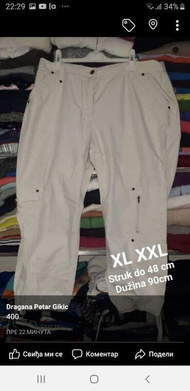 Bermyde kvalitetne XL. XXL Krem boje