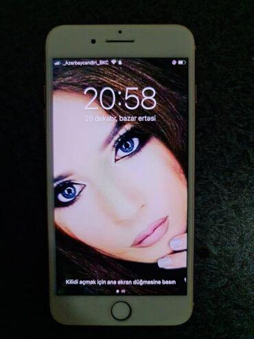 ayfon 5g - Azərbaycan: İşlənmiş iPhone 8 Plus 64 GB Qızılı