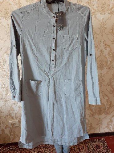 Женская одежда - Арашан: Рубашка новая турецкая размер 44 . 800сом