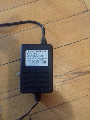 Bakı şəhərində Adaptor  18 volt 350ma