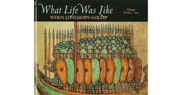 What Life Was Like When Longships Sailed: Vikings, AD Drawing on art