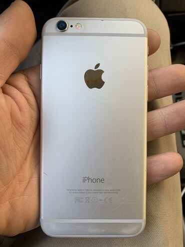 meizu m3 16gb silver в Кыргызстан: Б/У iPhone 6 16 ГБ Серебристый