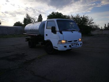 сушилка для белья цена бишкек в Кыргызстан: Молоковоз водовоз   5тонн . Нержавейка  Двухсекционная термобочка.  Со