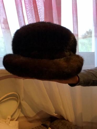 Шапку-для-девочки - Кыргызстан: Продаю норковую шапку(тумак) недорого