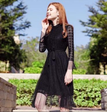 Crna haljina novo sa etiketom. Velicina M-L. Pogledajte sve moje - Belgrade
