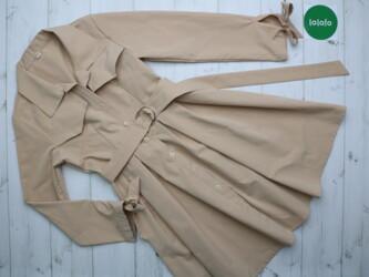 Личные вещи - Украина: Жіноча сукня-пальто, р.М    Довжина: 81 см Рукав: 54 см Напівобхват гр
