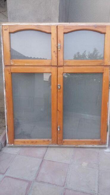 taxta - Azərbaycan: 4 eded taxta pencere 1.20×1.40 her biri 30 azn