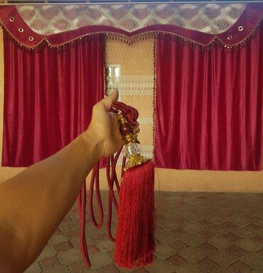 ролл шторы бишкек in Кыргызстан   ШТОРЫ И ЖАЛЮЗИ: Срочно продаю занавес для зала в ширину 4.20 в высоту 2.60 Почти новая