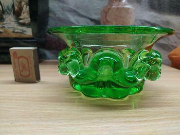Антикварные вазы в Кыргызстан: Продаю вазы стеклянные Желтая ваза Стеклянная ваза Желтая вазаСиняя