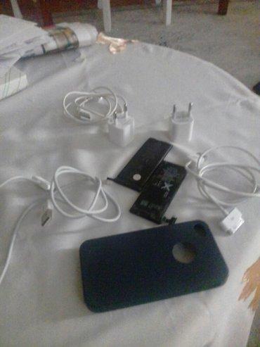 Bakı şəhərində Iphone 4s tam orginal ehtiyyat hissleri ve aksesuarlari 2 batareka 2 a
