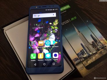 "смартфон zte blade x3 в Кыргызстан: Смартфон Leagoo M9 - четыре камеры Leagoo M9 5.5 ""18:9 полный экран"