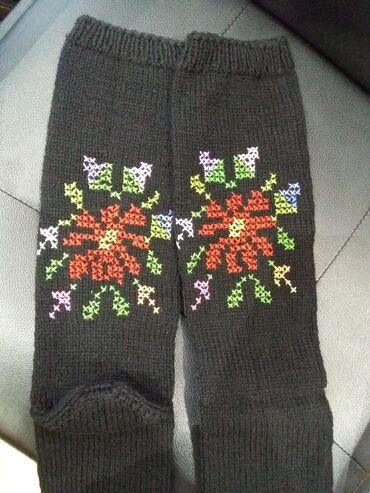 Vunica - Srbija: Čarape za folklor br 37-40. Prelepe, kvalitetne, čarape ručno radjene