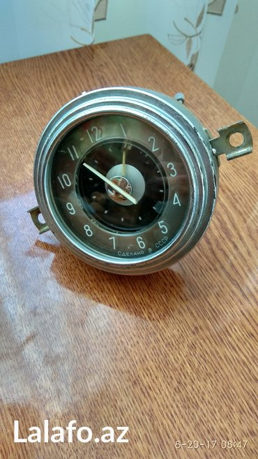 Xırdalan şəhərində M21 volqanın saatı,  təzədir,  heç işlənməyib.