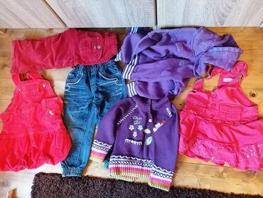 Dečija odeća i obuća - Beocin: Odeca za devojcice br 4.kao novo