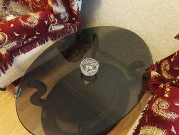 Bakı şəhərində Хрустальная конфетница. диаметр: 11,5 см. высота  :  7 см- şəkil 2