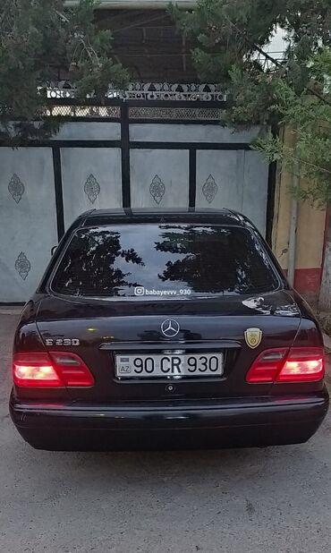 Nəqliyyat Saatlıda: Mercedes-Benz E 230 2.3 l. 1997   264000 km