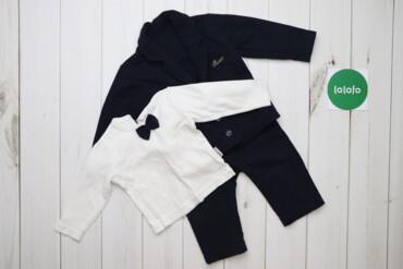 Дитячий комплект із піджака, штанів та светра Necix's, вік 6-9 місяців