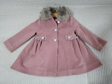 Dečije jakne i kaputi | Obrenovac: Kaput za devojčice, veličina 2. Materijal je 80% pamuk, 20%poliester