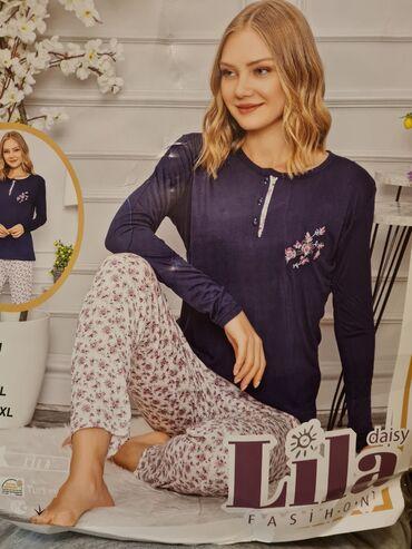 pijama - Azərbaycan: Pijama 100% pambiq🇹🇷🇹🇷🇹🇷