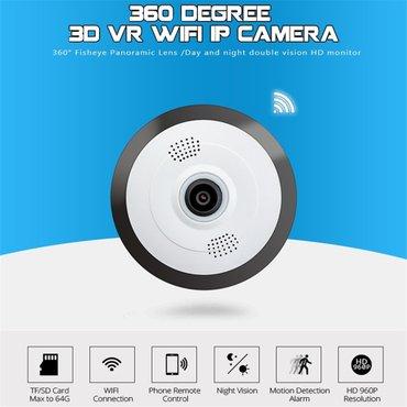 Bakı şəhərində Wifi ip kamera yeni 960 p  6 ay zəmanət  wifi sebeke ile isleyir  360