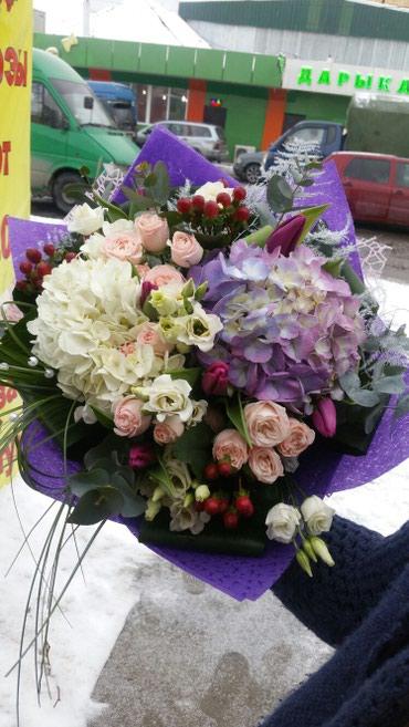 Доставка букетов по Бишкеку в Бишкек