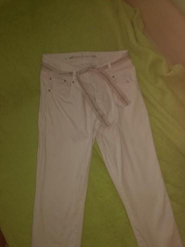 Bele-siroke-pantalone - Srbija: Bele dublhe pantalone