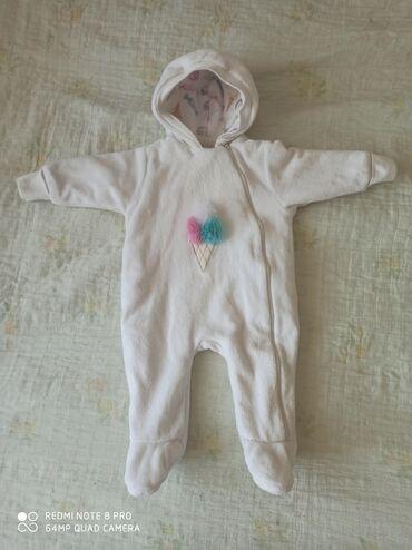 Детский мир - Кашка-Суу: Комбинезон на 6 месяцев в идеальном состоянии на девочку. Осень- весна