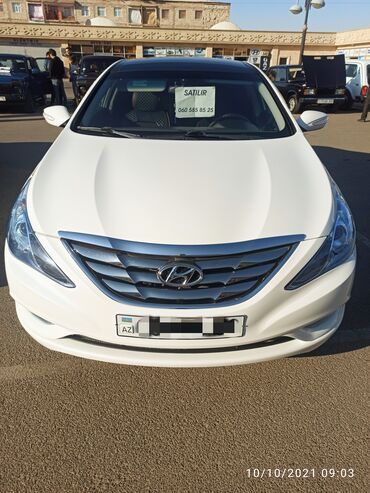 12 elan | NƏQLIYYAT: Hyundai Sonata 2.4 l. 2010 | 188000 km