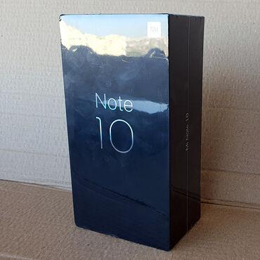 Xiaomi Azərbaycanda: Xiaomi Redmi Note 10 Yaddaş 6/128, qara rəngdə Bağlı qutuda, Zəmanətlə