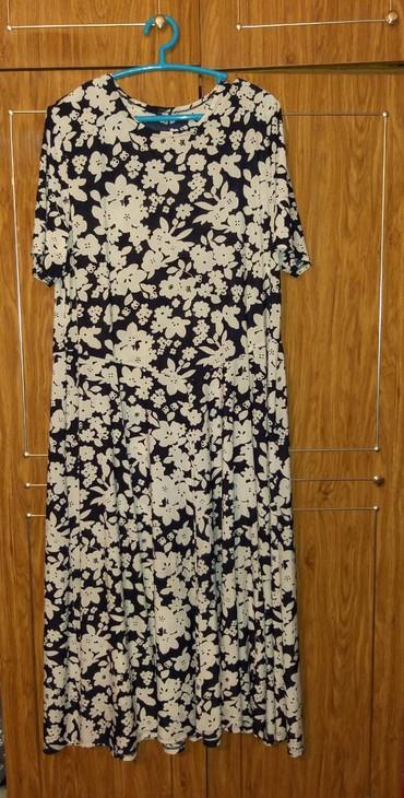 Платье, ткань холодок, размер 56, в Бишкек