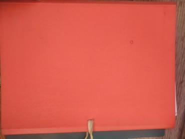 Красная папка для бумаг с возможностью завязать её. в Бишкек