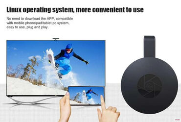 google chasy в Кыргызстан: Медиаприставка Google Chromecast Ultra BlackМедиаплеер Chromecast от