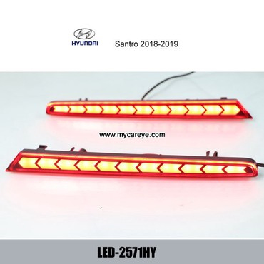 Hyundai Santro Car LED running Bumper Brake Parking Warning LED Lights in Tīkapur