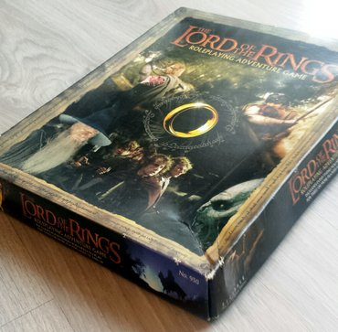 The lord of the rings  društvena igra. Roleplaying adventure game - Beograd
