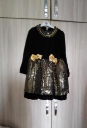 платья из велюра в Кыргызстан: Платье,низ в паетках,верх велюр, качество . примерно на 5-6лет