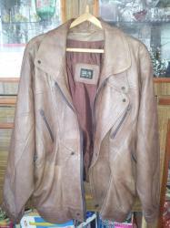 Продаю кожаную куртку, пр-во Италия, размер 52-54 в Бишкек
