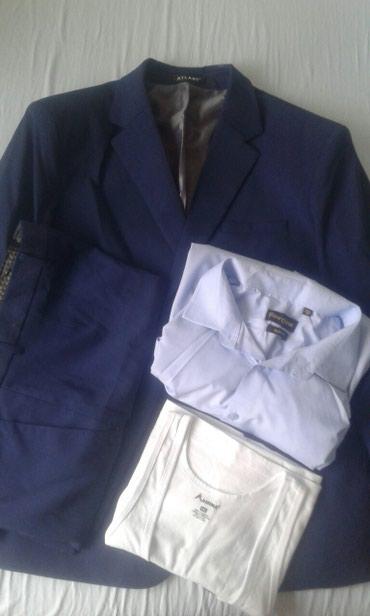 Мужской костюм новые 52 54 раз цвет тем в Бишкек