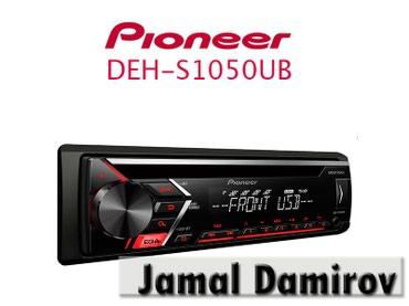 Bakı şəhərində Maqnitola PIONEER DEH-S1050UB.