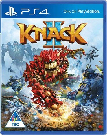 Bakı şəhərində Ps4 üçün Knack 2 oyun diski satılır Yenidir bağlı upokovkada