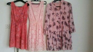 Tri haljinice velicina M a moze i ko nosi S. Prelelepe su i lepo - Pirot