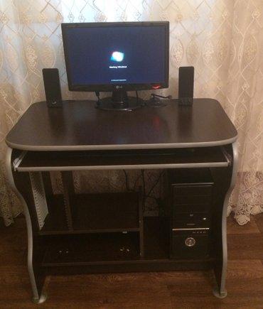 Bakı şəhərində Masa ve komputer satilir + mikrafon + webcamera + klaviatura ve sican.