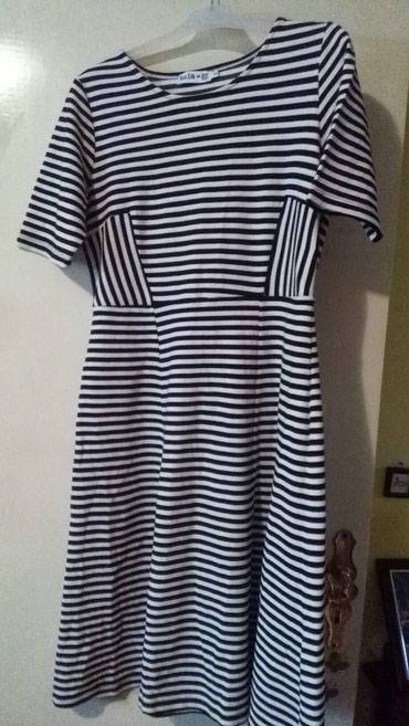 Haljina za krupnije dame,novo,jako lepo stoji,deblji materijal pa se - Sombor