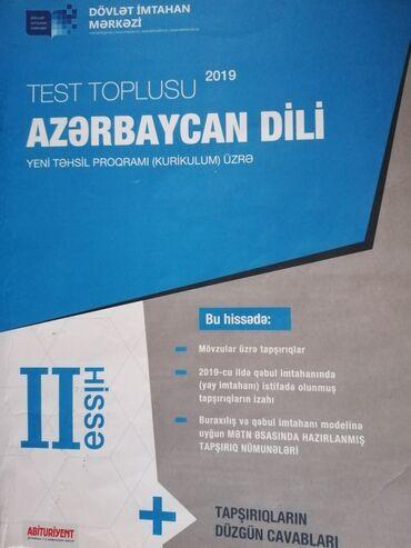 Azərbaycan dili   DİM   2ci hissə test toplusu 2019