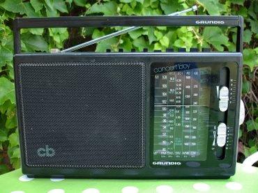 Odličan stari nemački radio tranzistor GRUNDIG Concert Boy 225. - Novi Sad