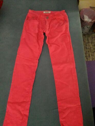 Pink pantalone - Srbija: Pink pantalone sa elastinom vel.l