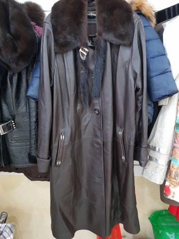 Женское пальто Турция, кожа 100 %, в Бишкек