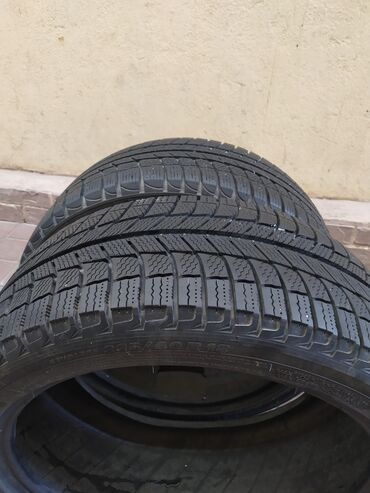 Продам резину зима! 225/40/18 одно колесо Michelin одно Китай! Рисунок