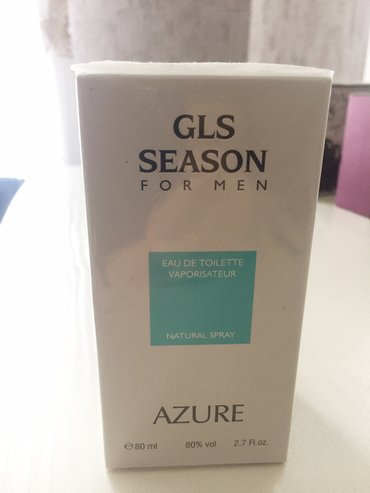 - Azərbaycan: AZURE GLS SEASON (for men) 80 ML