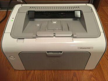 Принтеры - Кыргызстан: Принтер HP Laserjet p1102Очень бодрый принтер, печатает отлично